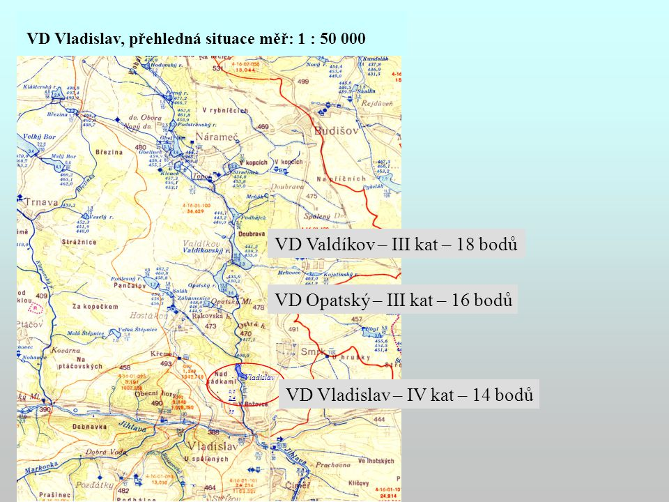 VD Valdíkov – III kat – 18 bodů