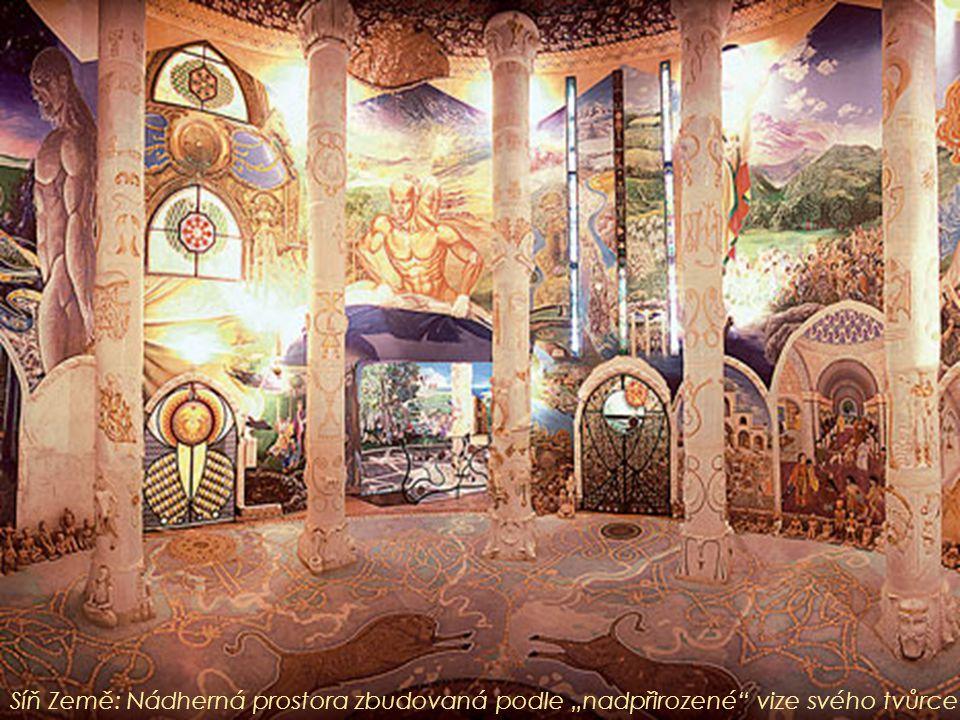 """Síň Země: Nádherná prostora zbudovaná podle """"nadpřirozené vize svého tvůrce"""