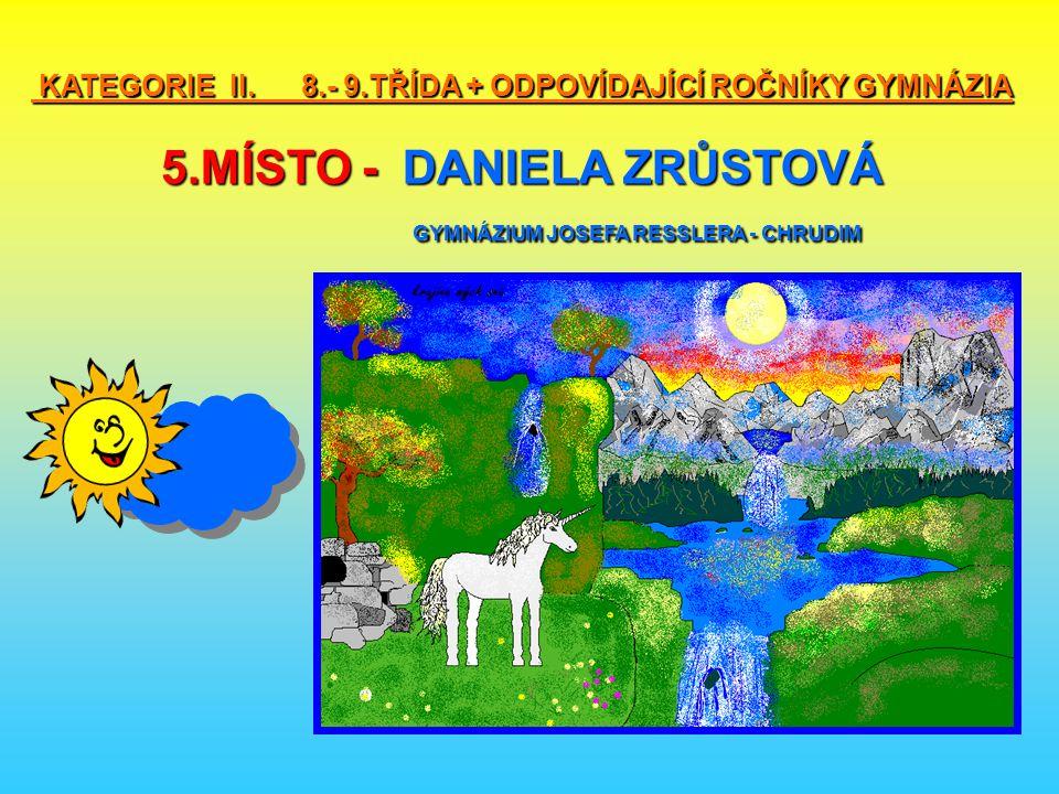 KATEGORIE II. 8. - 9. TŘÍDA + ODPOVÍDAJÍCÍ ROČNÍKY GYMNÁZIA 5