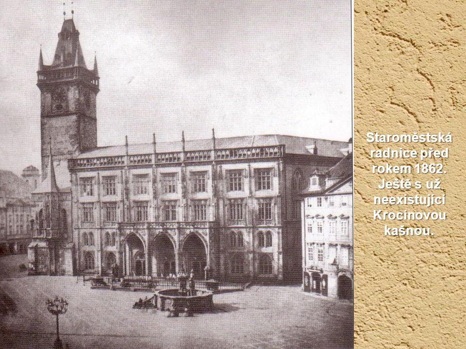 Staroměstská radnice před rokem 1862