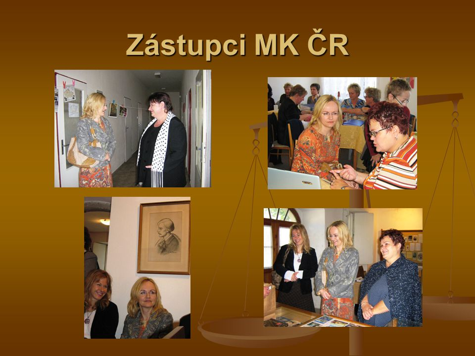 Zástupci MK ČR
