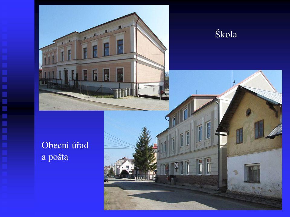 Škola Obecní úřad a pošta