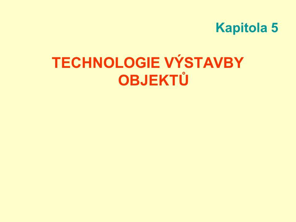 TECHNOLOGIE VÝSTAVBY OBJEKTŮ
