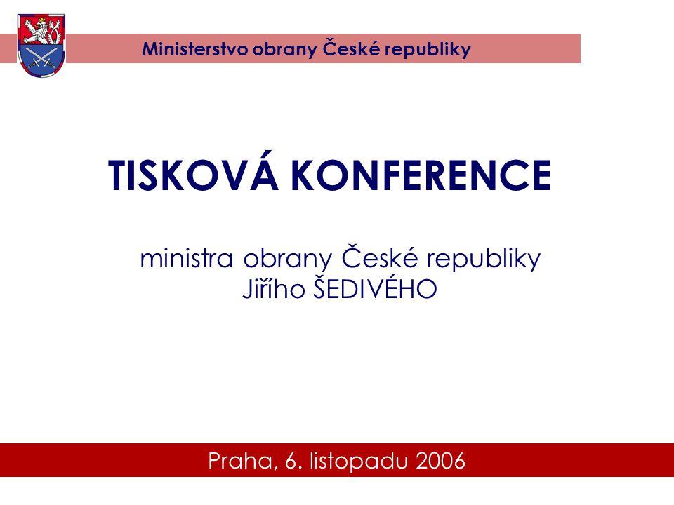 ministra obrany České republiky