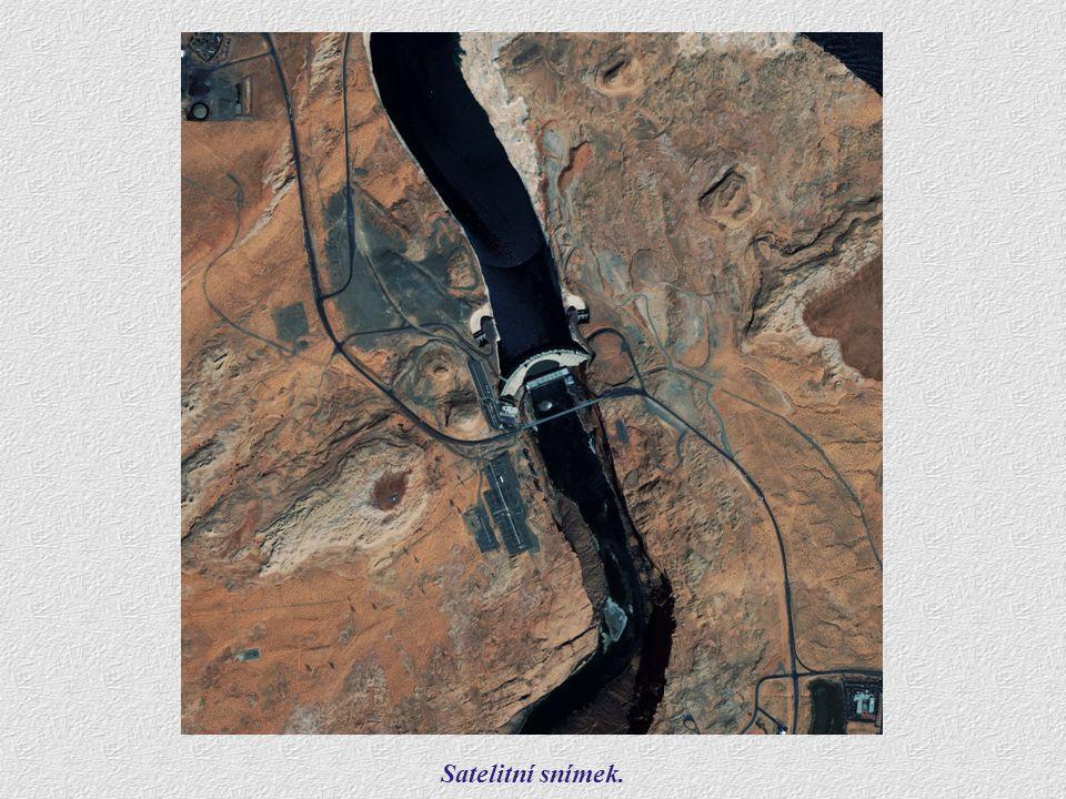 Satelitní snímek.