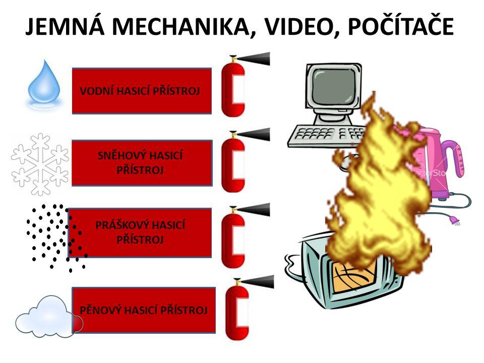 JEMNÁ MECHANIKA, VIDEO, POČÍTAČE