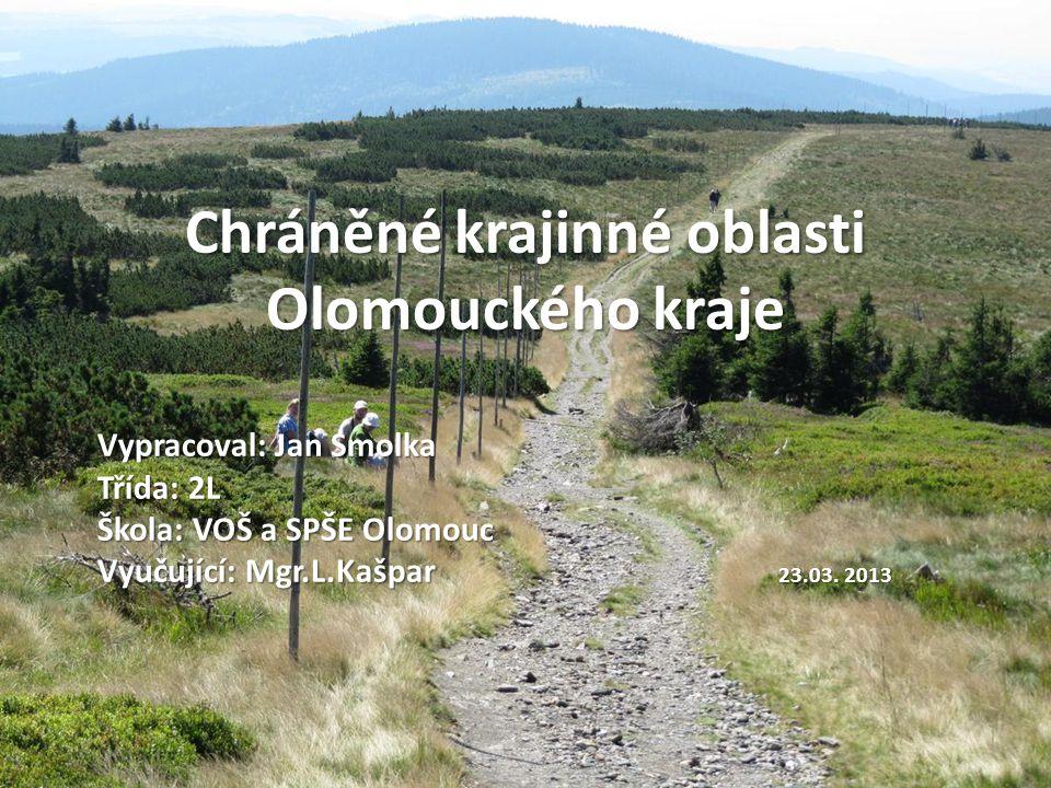 Chráněné krajinné oblasti Olomouckého kraje