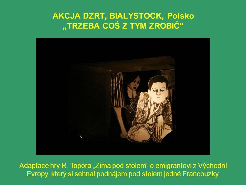 """AKCJA DZRT, BIALYSTOCK, Polsko """"TRZEBA COŚ Z TYM ZROBIĆ"""