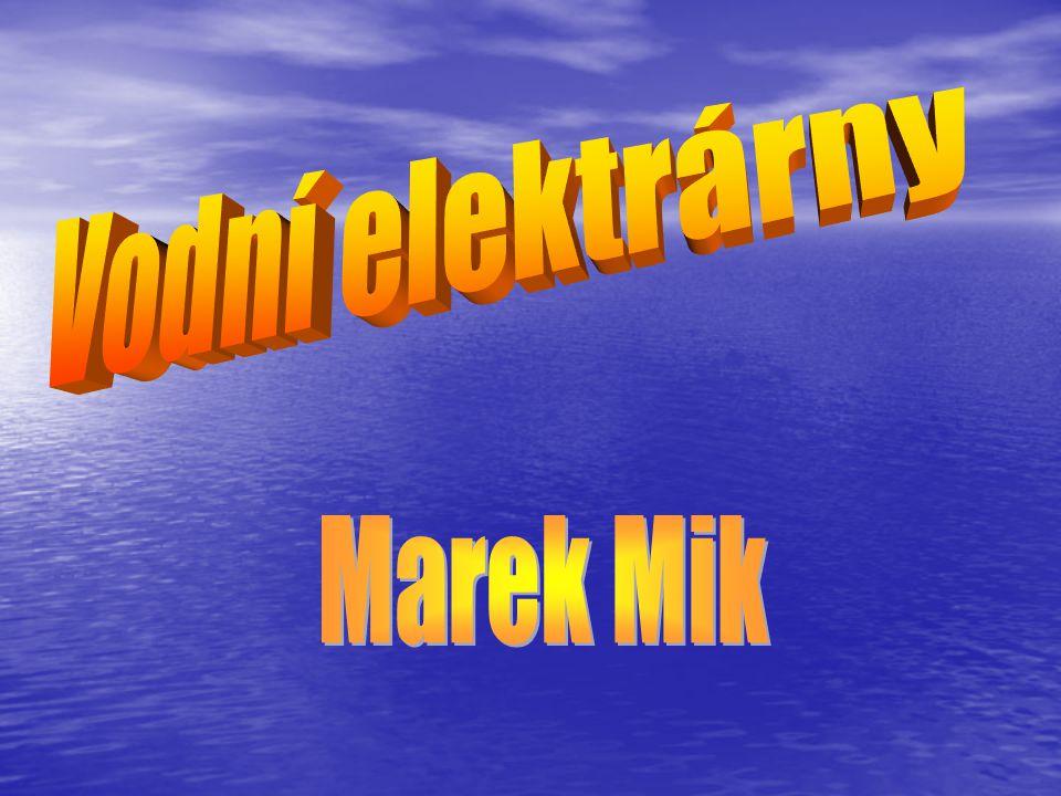 Vodní elektrárny Marek Mik