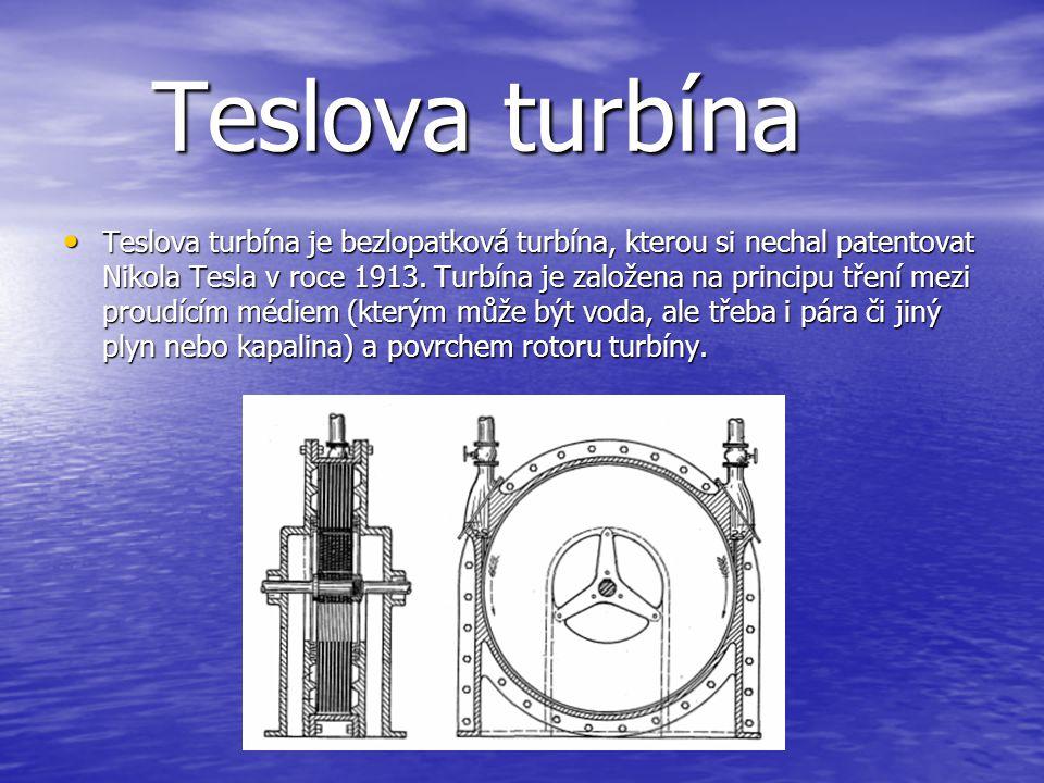 Teslova turbína