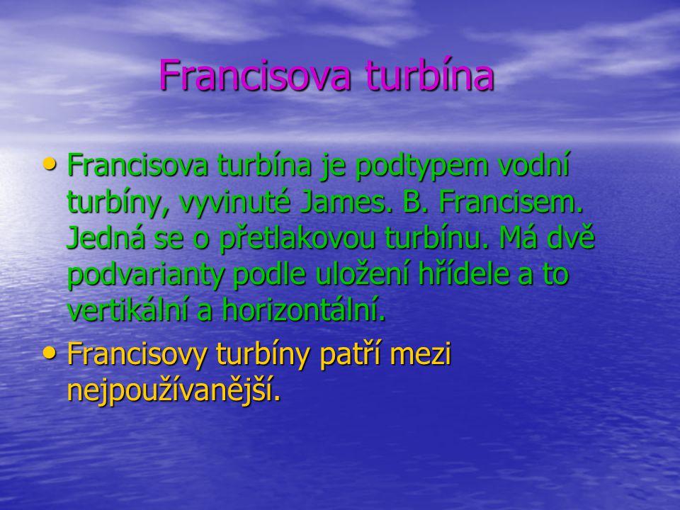 Francisova turbína