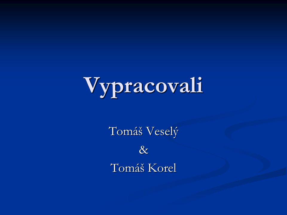 Tomáš Veselý & Tomáš Korel
