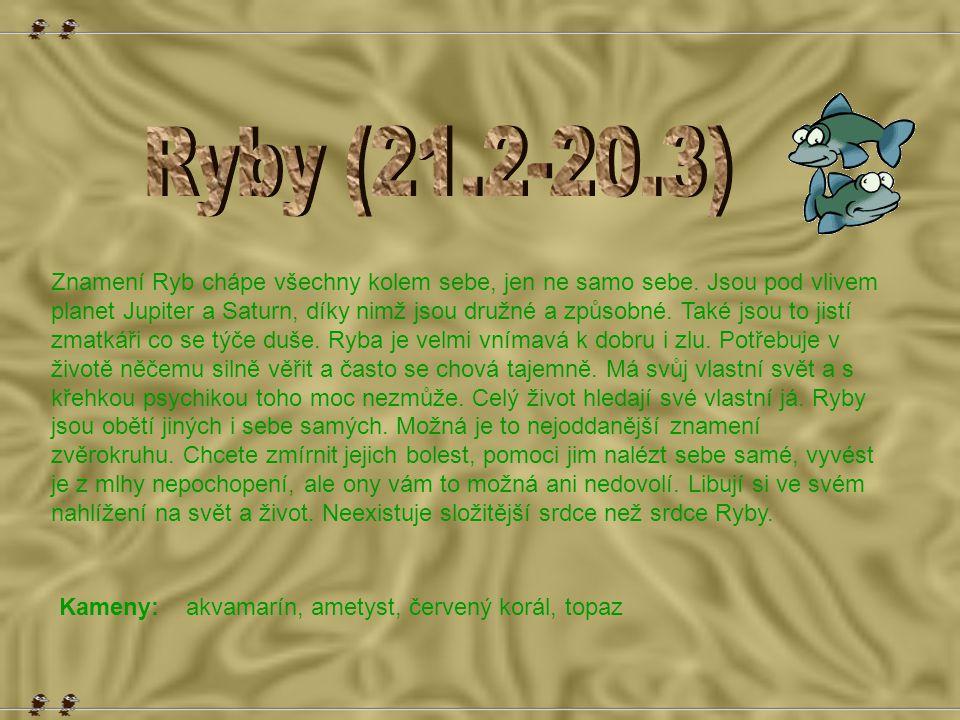 Ryby (21.2-20.3)