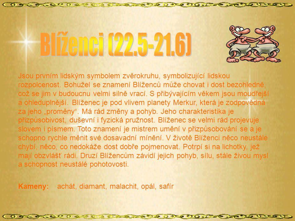 Blíženci (22.5-21.6)