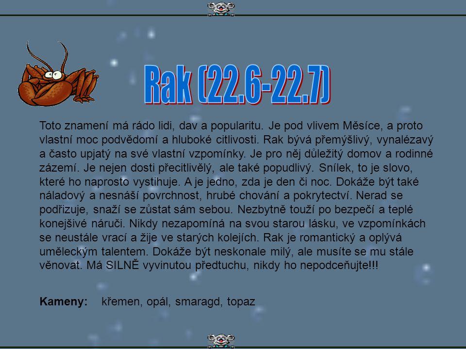 Rak (22.6-22.7)