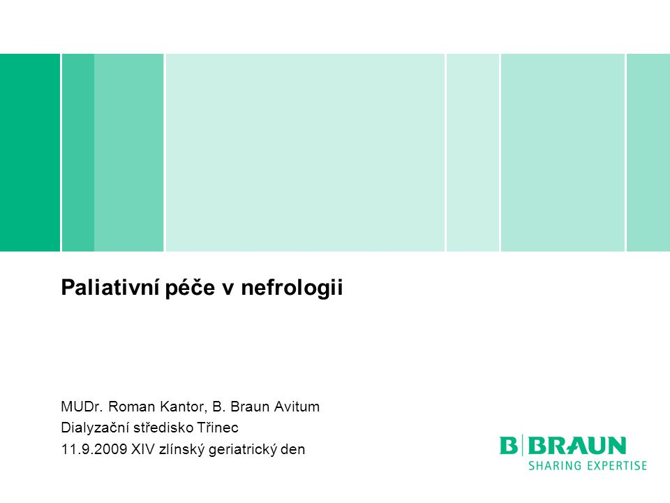 Paliativní péče v nefrologii