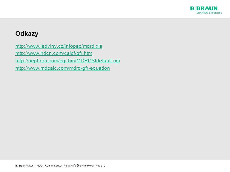 Odkazy http://www.ledviny.cz/infopac/mdrd.xls