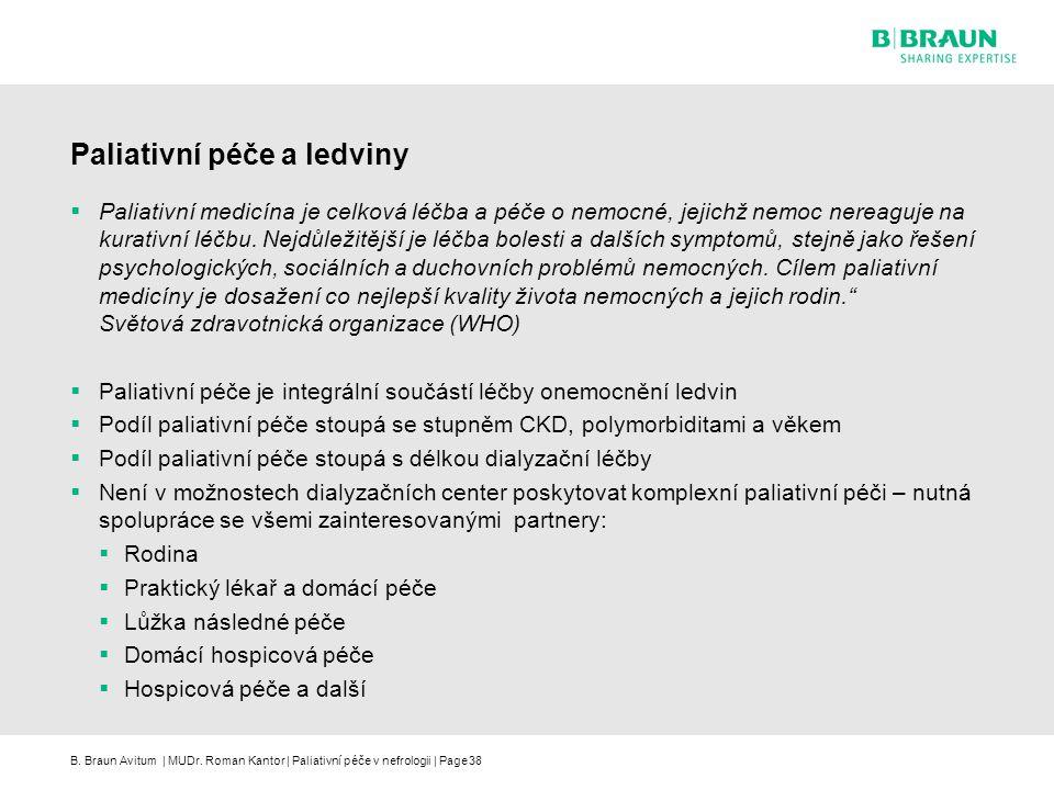 Paliativní péče a ledviny