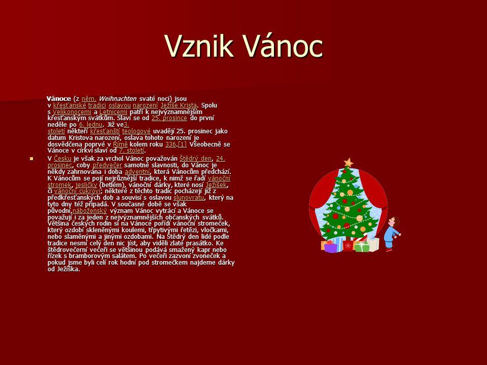Vznik Vánoc