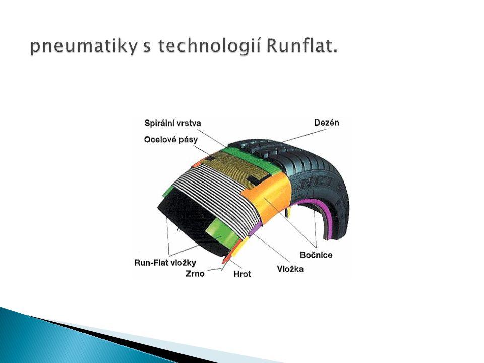 pneumatiky s technologií Runflat.