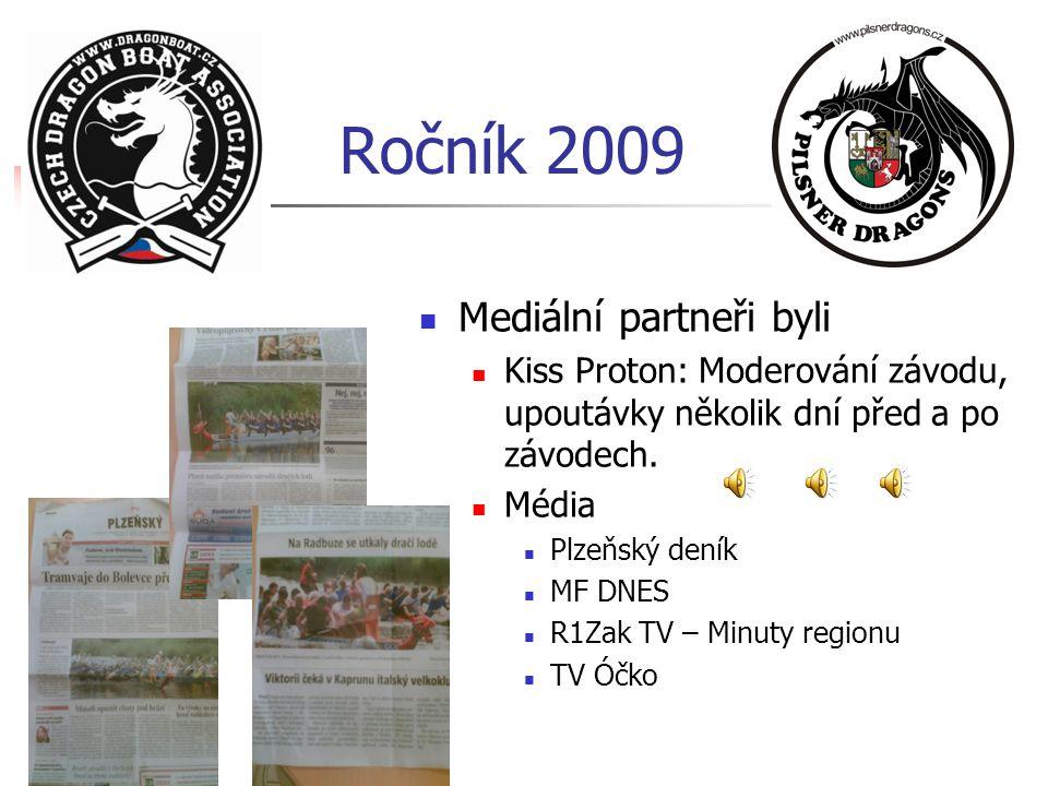 Ročník 2009 Mediální partneři byli