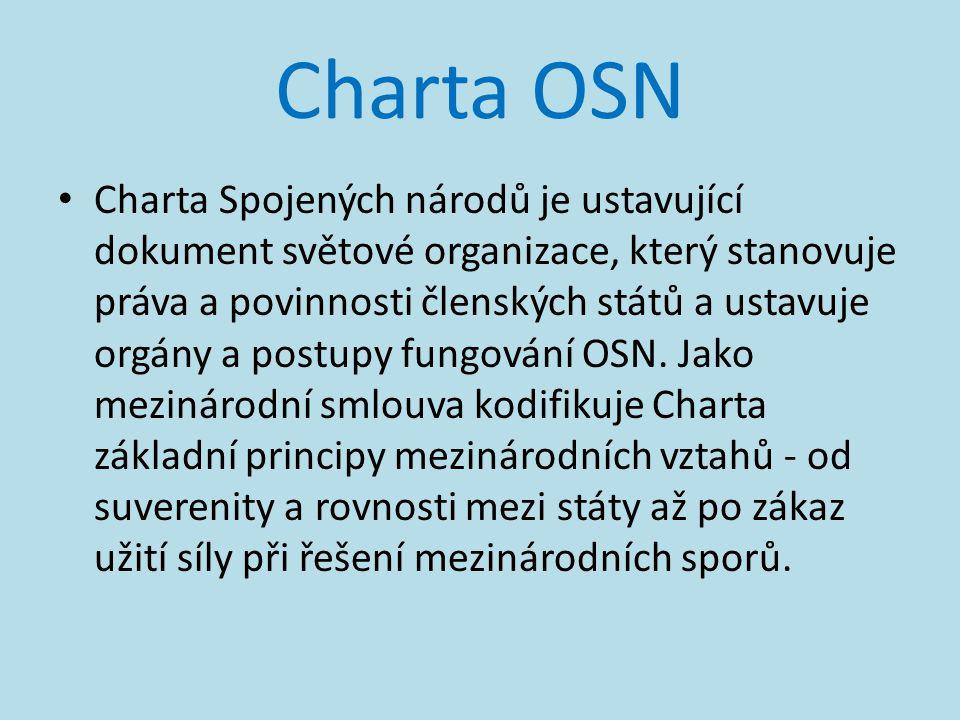 Charta OSN