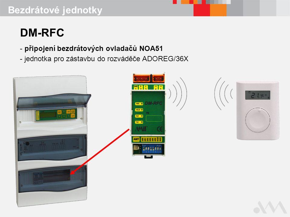 DM-RFC Bezdrátové jednotky připojení bezdrátových ovladačů NOA51
