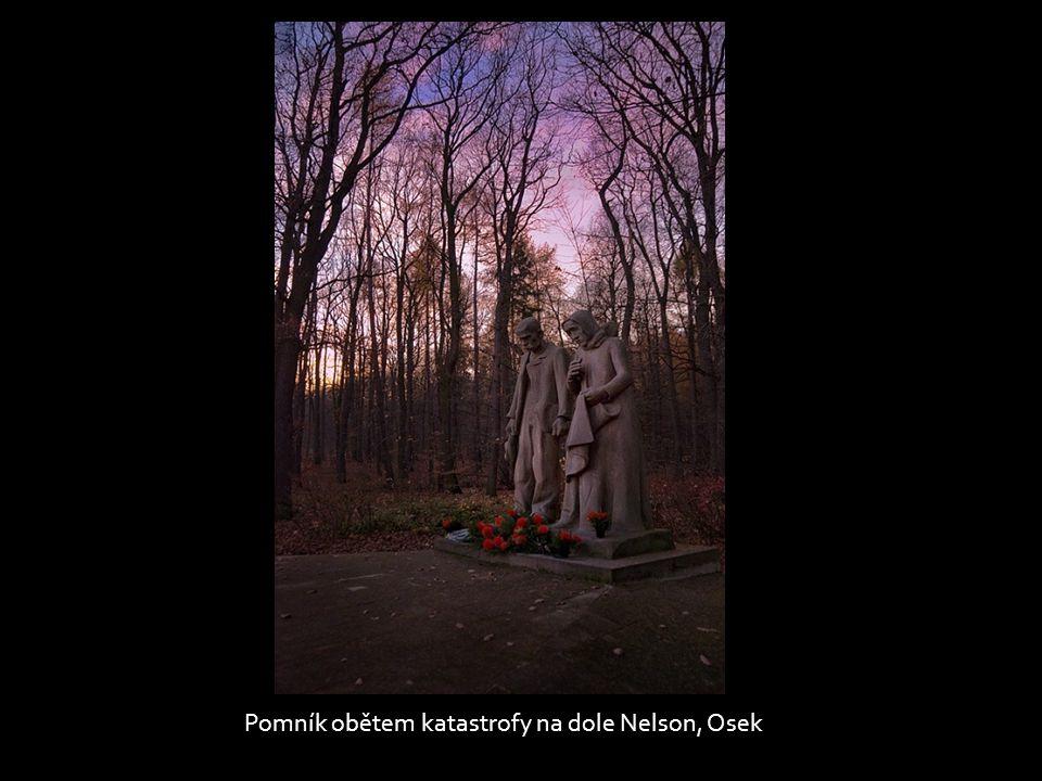 Pomník obětem katastrofy na dole Nelson, Osek