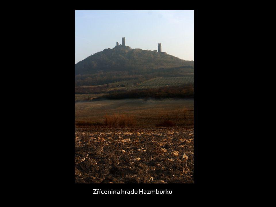Zřícenina hradu Hazmburku