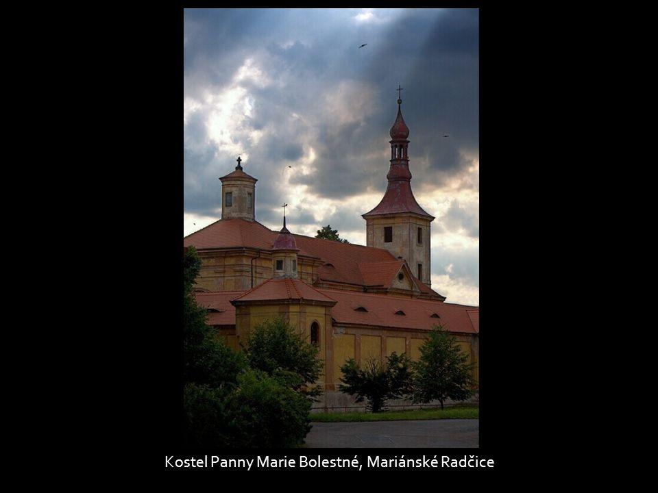Kostel Panny Marie Bolestné, Mariánské Radčice