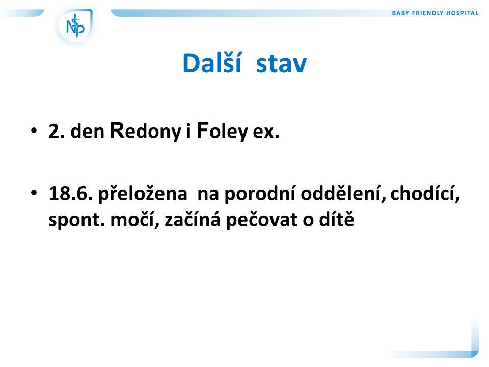 Další stav 2. den Redony i Foley ex.