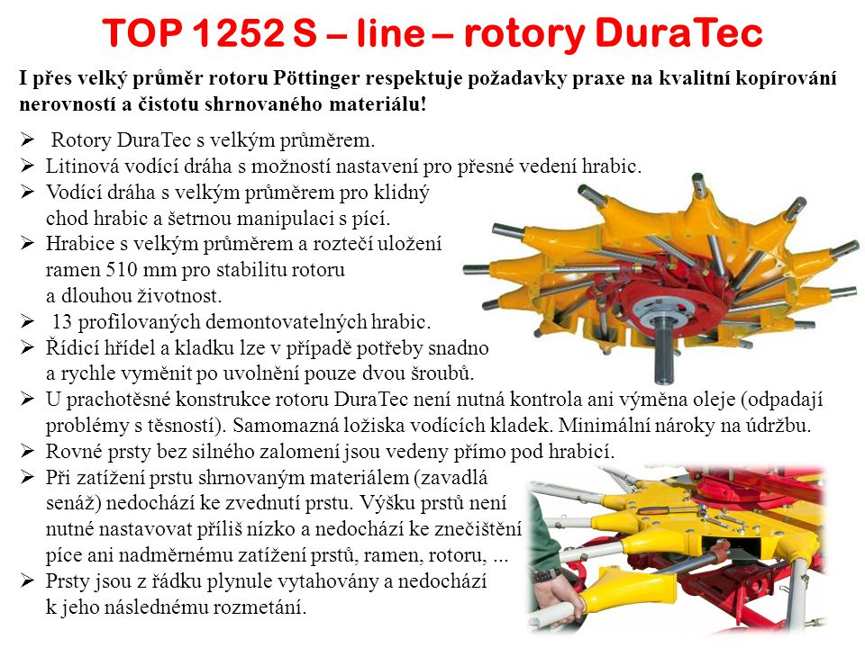 TOP 1252 S – line – rotory DuraTec
