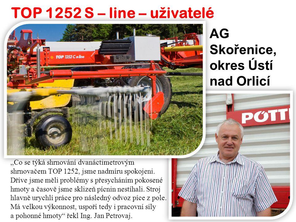 TOP 1252 S – line – uživatelé AG Skořenice, okres Ústí nad Orlicí