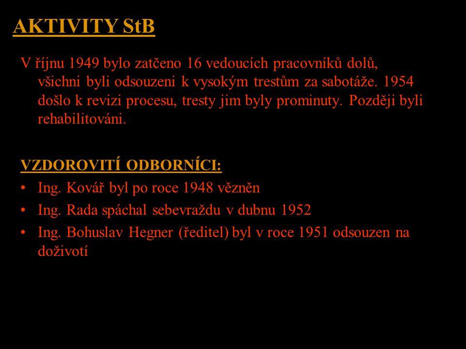 AKTIVITY StB