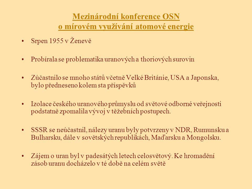Mezinárodní konference OSN o mírovém využívání atomové energie