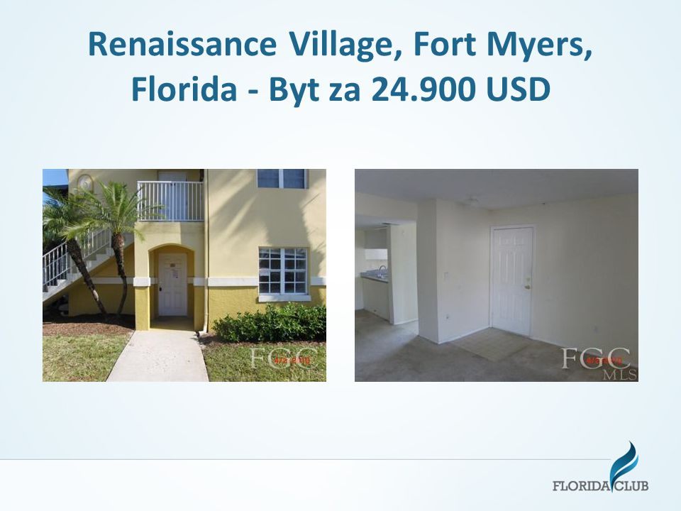 Renaissance Village, Fort Myers, Florida - Byt za 24.900 USD