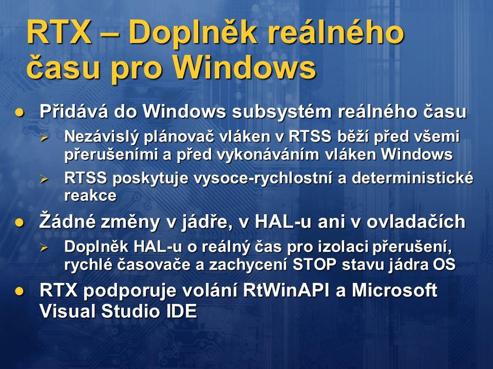 RTX – Doplněk reálného času pro Windows
