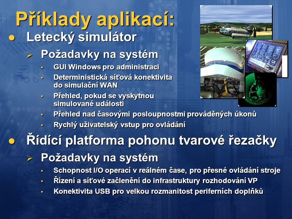 Příklady aplikací: Letecký simulátor