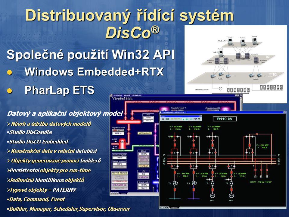 Distribuovaný řídící systém DisCo®