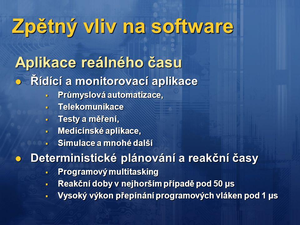 Zpětný vliv na software