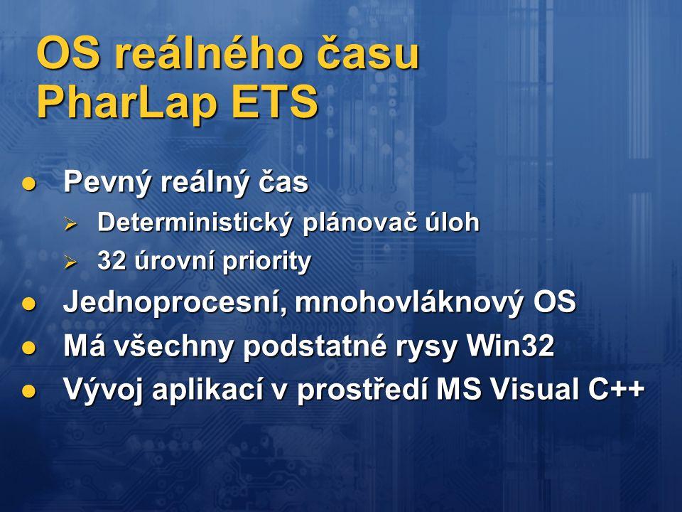 OS reálného času PharLap ETS
