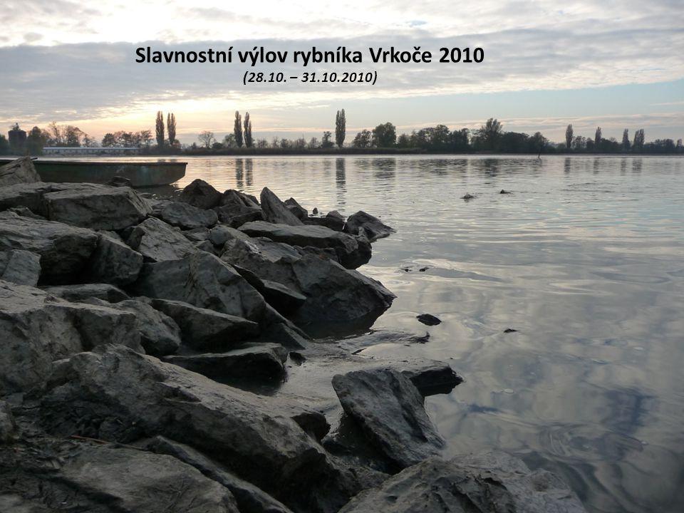 Slavnostní výlov rybníka Vrkoče 2010