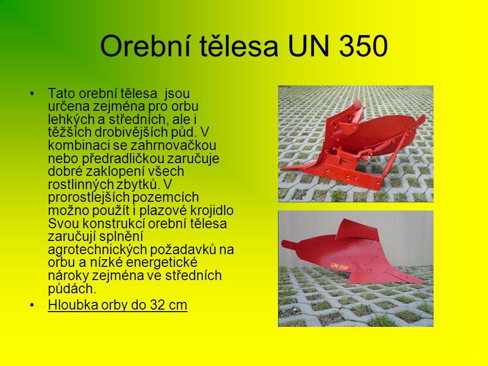 Orební tělesa UN 350