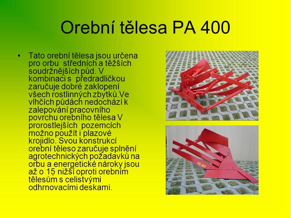 Orební tělesa PA 400