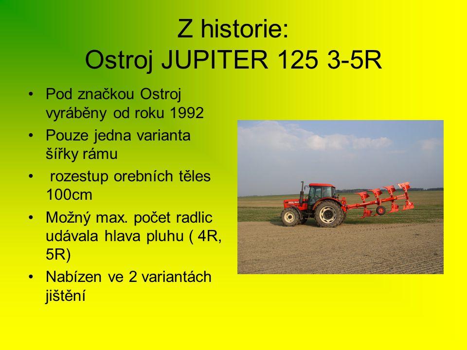 Z historie: Ostroj JUPITER 125 3-5R