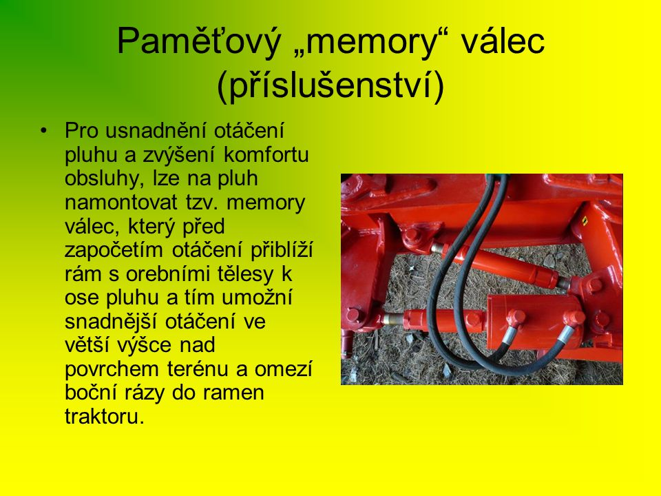 """Paměťový """"memory válec (příslušenství)"""