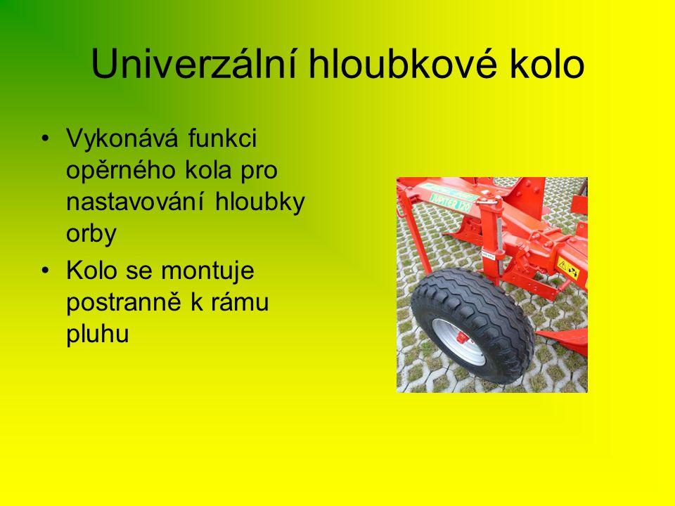 Univerzální hloubkové kolo