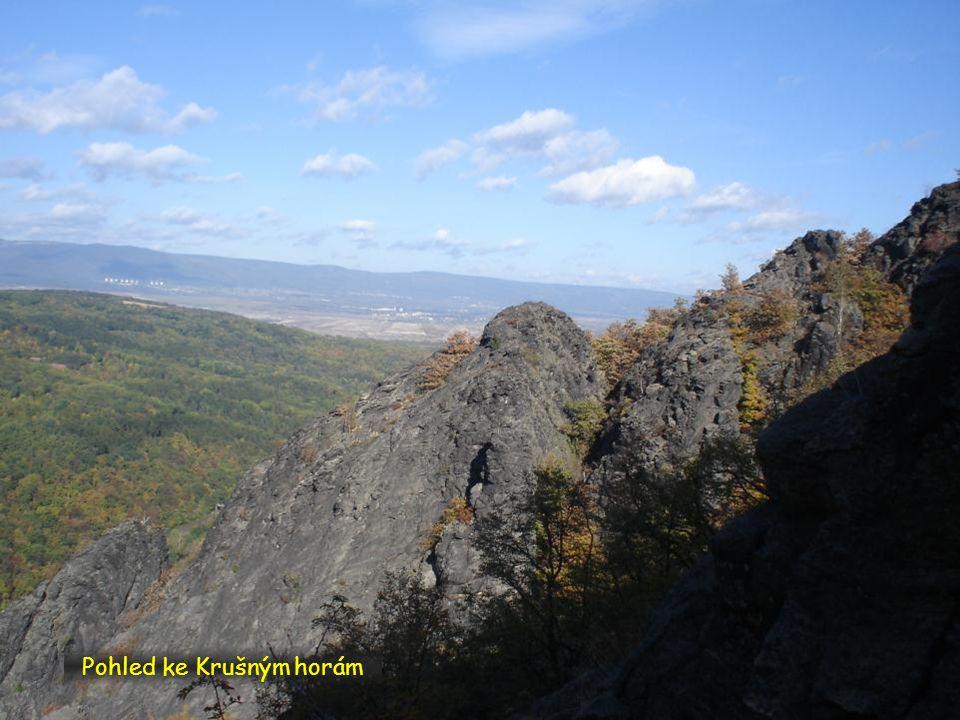Pohled ke Krušným horám