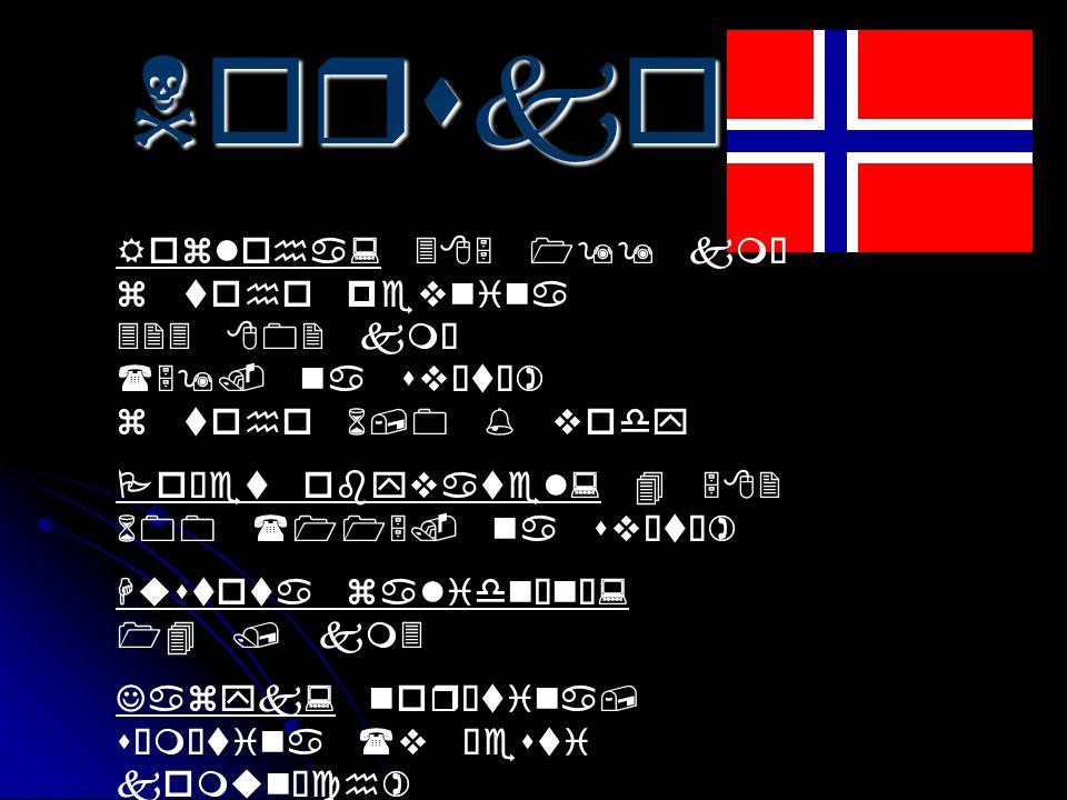Norsko Rozloha: 385 199 km² z toho pevnina 323 802 km² (59. na světě) z toho 6,0 % vody. Počet obyvatel: 4 582 600 (115. na světě)