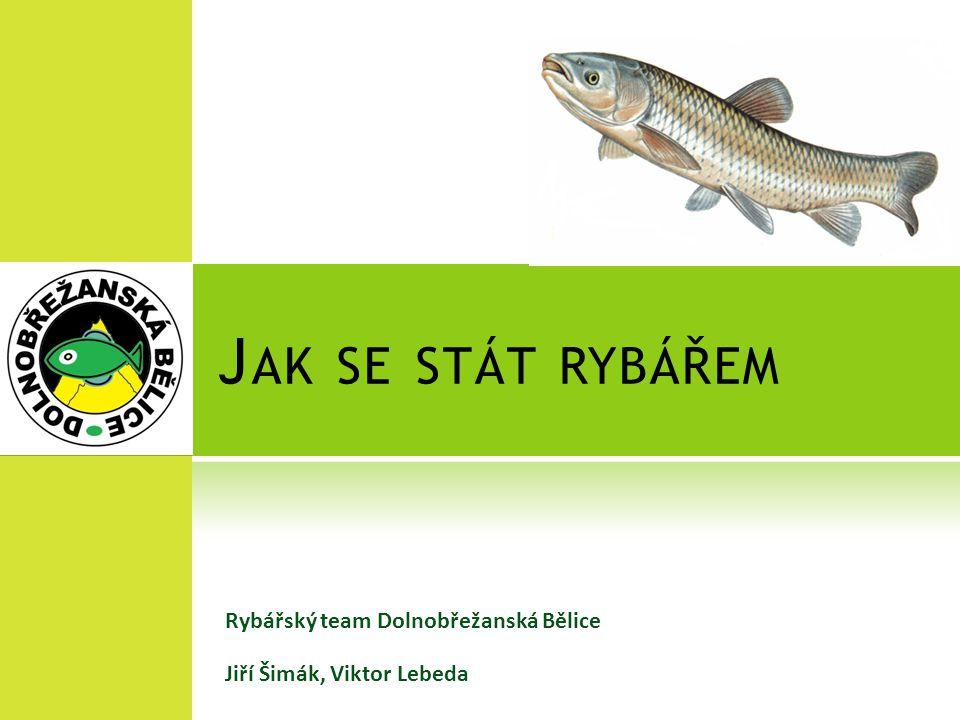 Jak se stát rybářem Rybářský team Dolnobřežanská Bělice